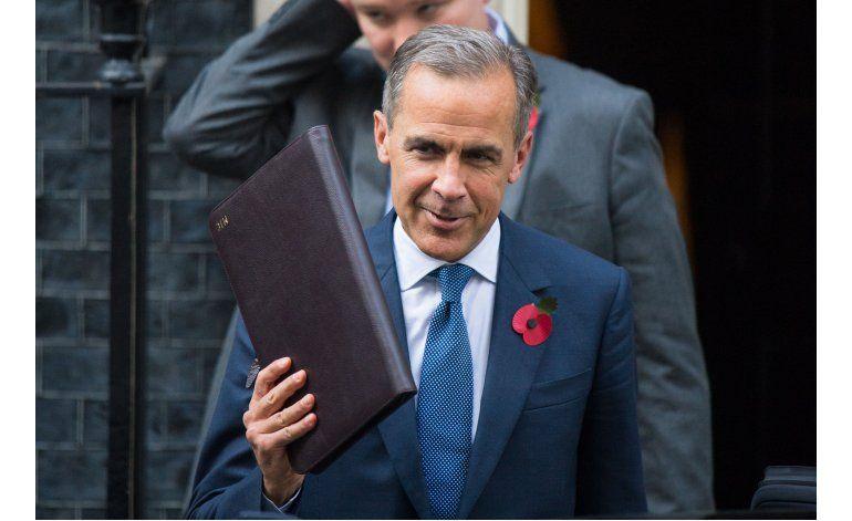 Gobernador de Banco de Inglaterra seguirá hasta junio 2019