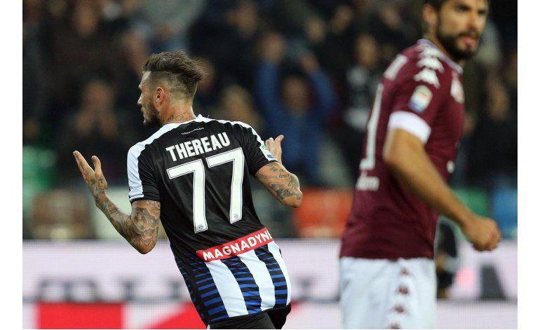 Torino empata ante Udinese y se aleja de plazas europeas