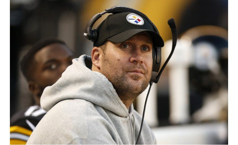 Roethlisberger participa en práctica limitada con Steelers