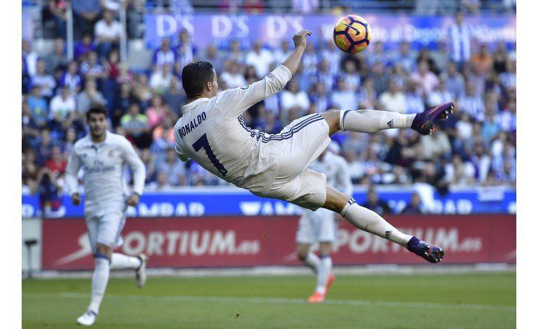CR7 a dos goles de los 100 en la Liga de Campeones