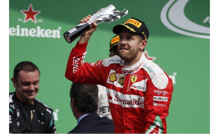 Vettel evita medidas disciplinarias tras arrebato