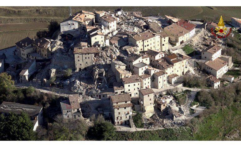 Regresamos a la era de piedra tras sismo en villa italiana