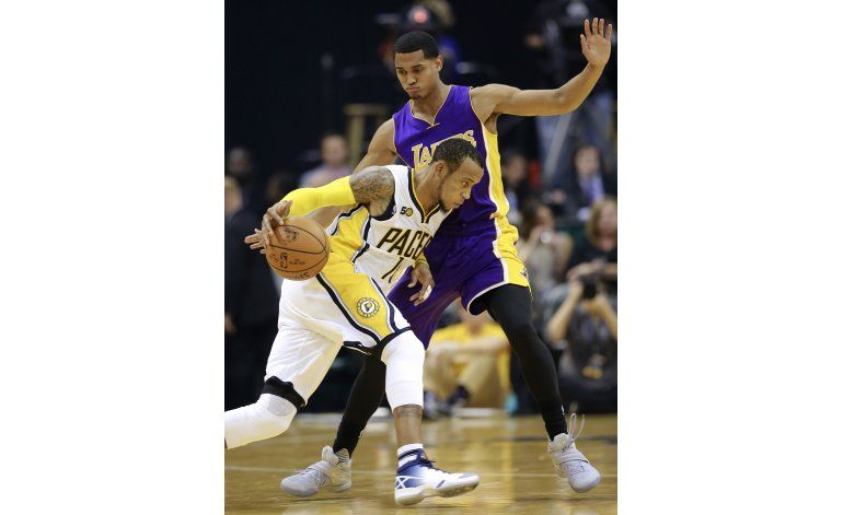 Con 30 de George, Pacers vencen a Lakers