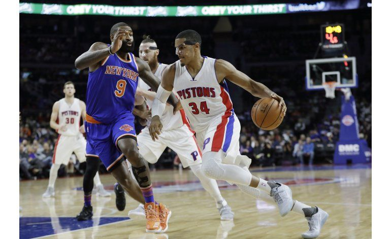 Pistons hilan 3er triunfo, ahora sobre Knicks