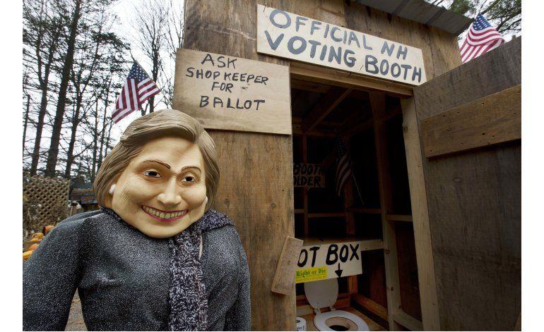 Activan casilla electoral en un baño en New Hampshire