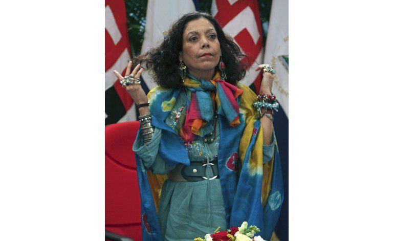 El camino de primera dama a vicepresidenta de Nicaragua