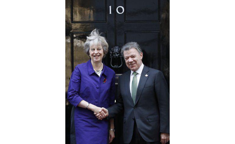 Colombia y Gran Bretaña anuncian acuerdo petrolero