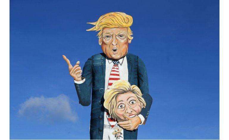 Quemarán efigie de Trump en fogata en Inglaterra