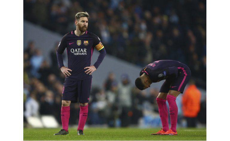 Sin Iniesta ni Piqué, suplentes de Barsa no pasan la prueba