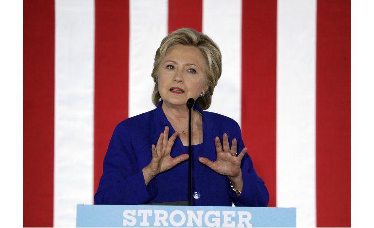 Clinton apela a minorías contra Trump