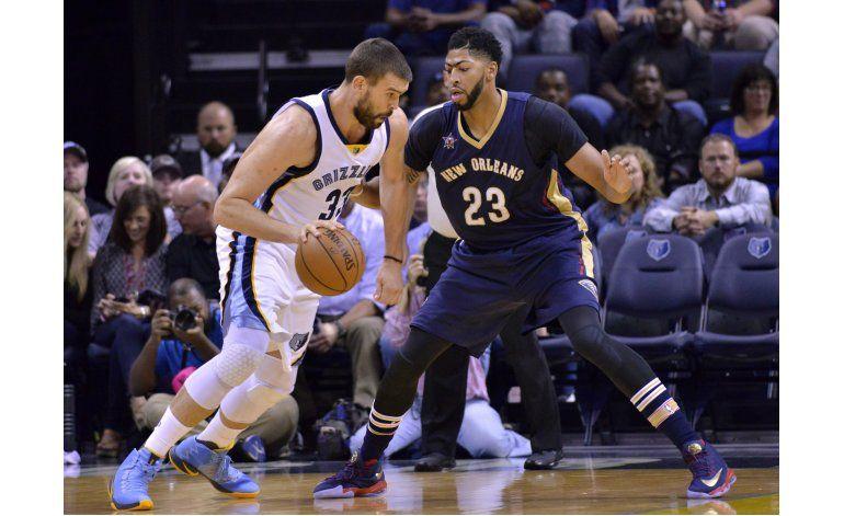 Grizzlies mantiene a los Pelicans sin triunfo