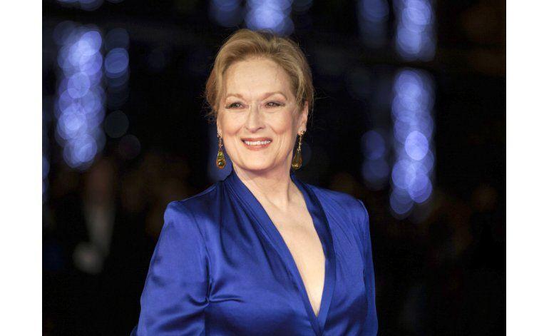 Meryl Streep recibirá Premio Cecil B. DeMille en los Globos