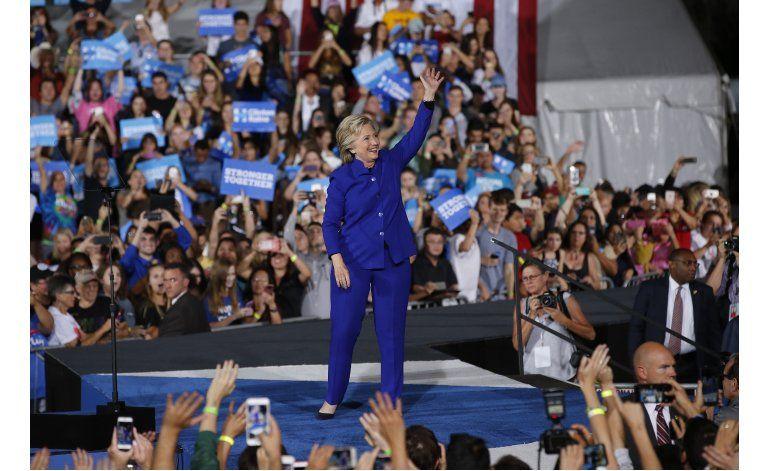 LO ULTIMO: Clinton elogia a los Cachorros durante campaña