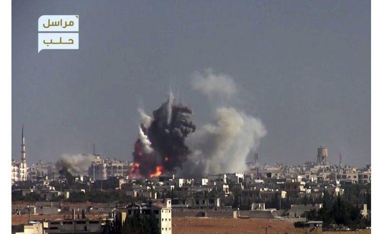 Rebeldes sirios lanzan múltiples ataques en Alepo