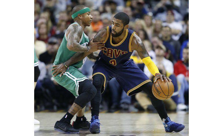 Cavaliers mantienen el invicto con triunfo sobre Celtics