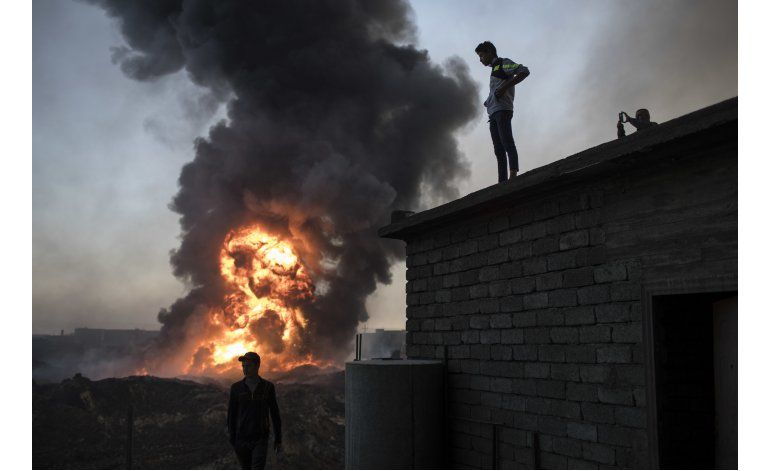Duros combates en Mosul ante avance de tropas iraquíes