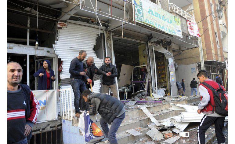 Ocho muertos tras una explosión en ciudad curda en Turquía