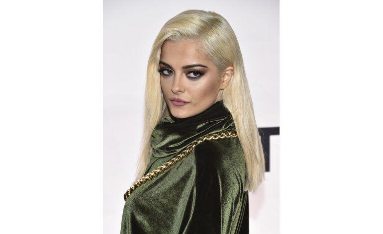 Bebe Rexha como en casa en Europa para los MTV EMA