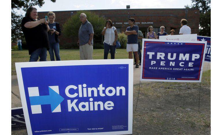 Demócratas acusan a republicanos de intimidar a electores