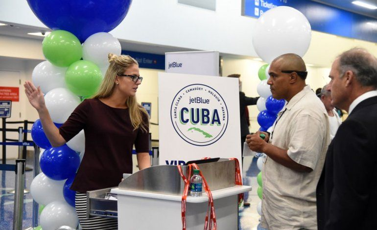 JetBlue, segunda aerolínea de EEUU que recorta vuelos a Cuba