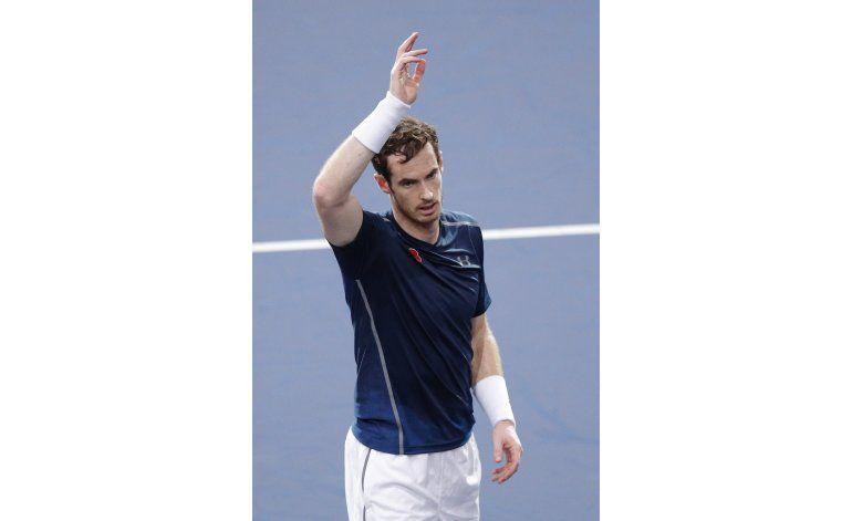 Djokovic cae en París; Murray se acerca a la cima
