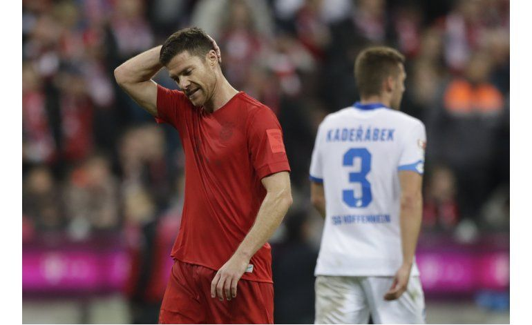 Bayern Munich empata 1-1 con Hoffenheim en Bundesliga