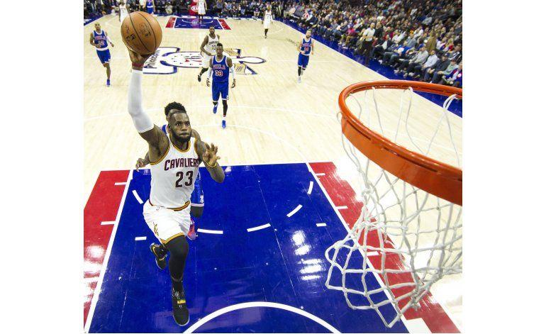 LeBron es ya el 10mo mejor anotador de la historia en la NBA