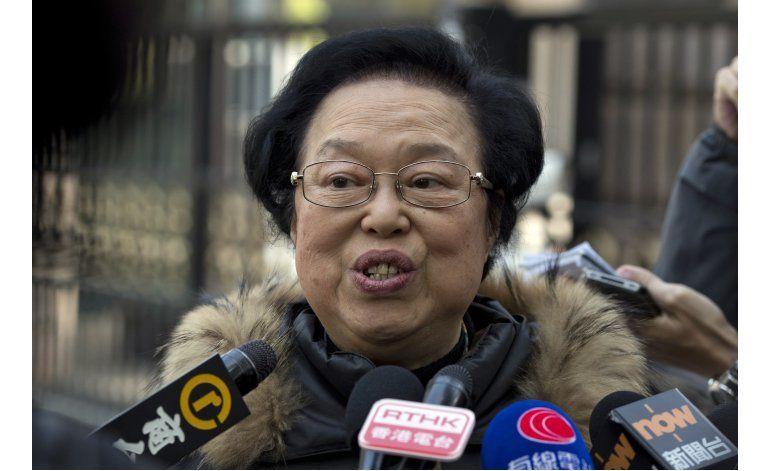 China dice que disuadirá separatismo en Hong Kong