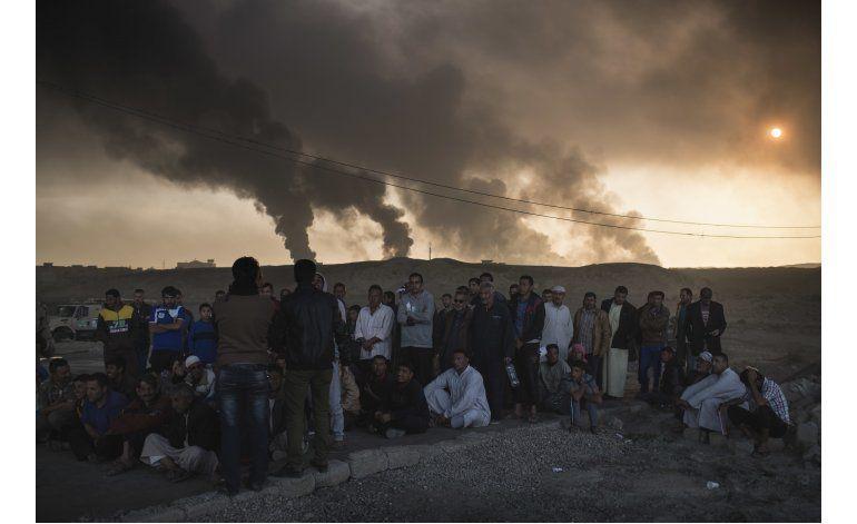 Fuerzas iraquíes enfrentan obstáculos en ofensiva por Mosul