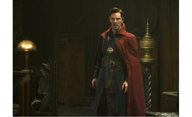 Doctor Strange encabeza taquillas en Norteamérica