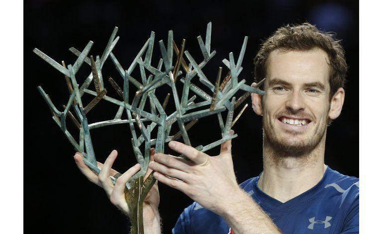 Andy Murray vence a Isner para ganar el Masters de París