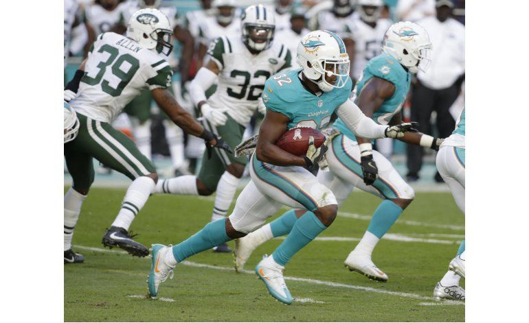 Regreso de 96 yardas da a Dolphins un triunfo ante Jets
