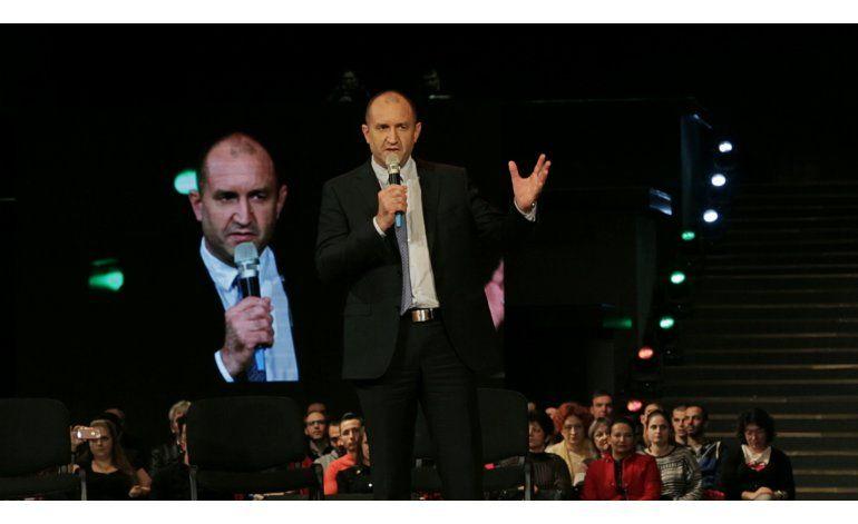 Candidato pro ruso encabeza comicios en Bulgaria