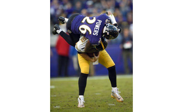 Ravens frustran al Big Ben y vencen a Steelers
