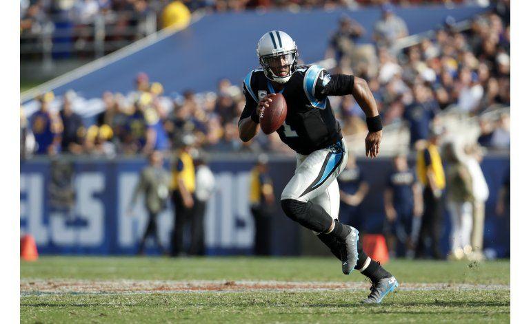 Panthers ganan en casa de Rams pese a 5 capturas a Newton