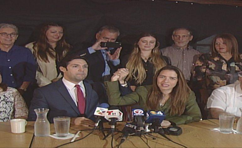 Ex candidato Alfred Santamaría decide apoyar  la candidatura de Raquel Regalado a la alcaldía de Miami Dade