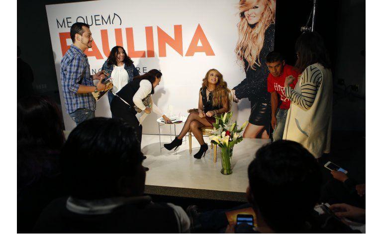Paulina Rubio: Todo el mundo lleva un reggaetonero dentro
