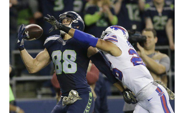 Seahawks ganan duelo de ofensivas ante Bills