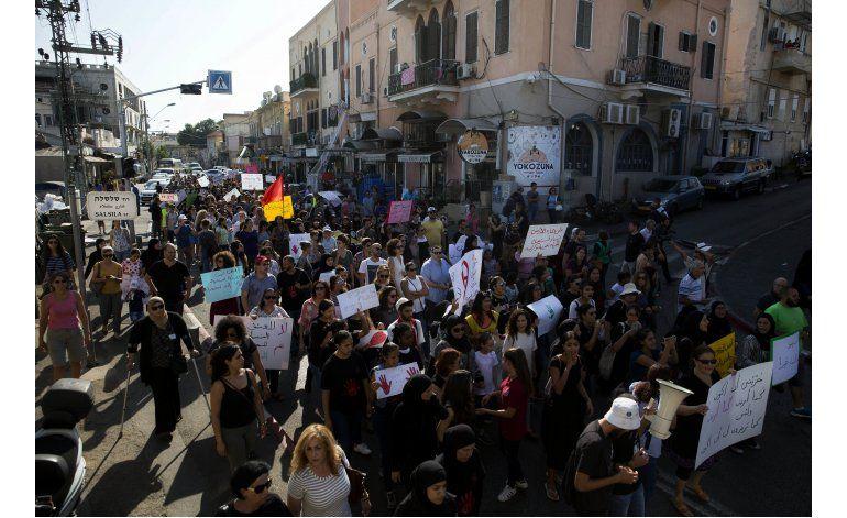 Asesinato moviliza a mujeres árabes de Israel