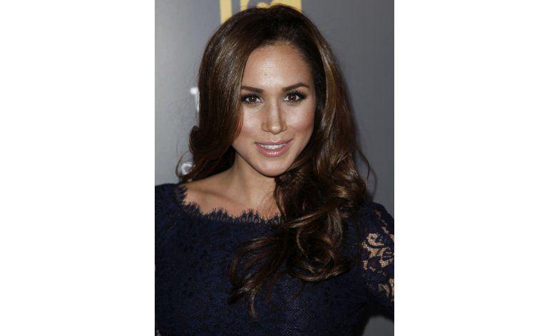 Una instantánea de Meghan Markle, novia del príncipe Enrique