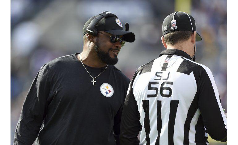 Steelers esperan mostrar más disciplina