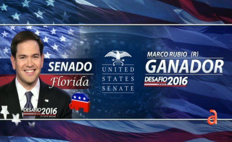 Marco Rubio gana la reelección para el Senado