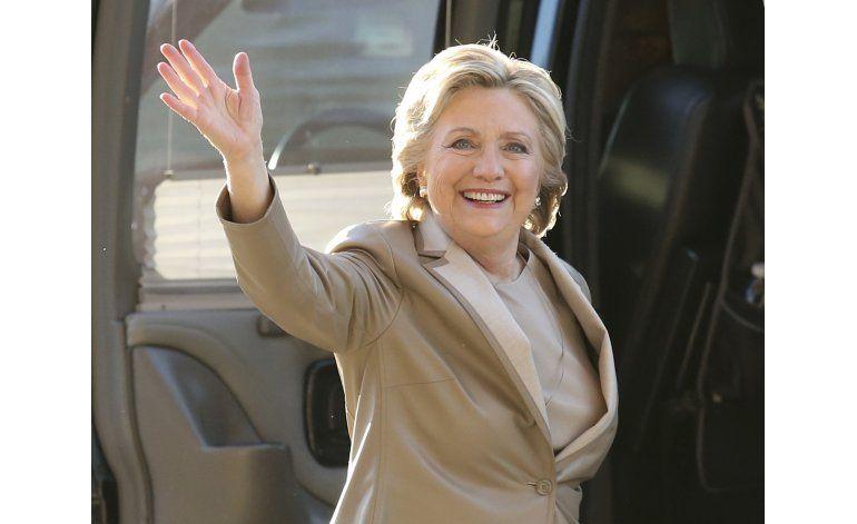 Mayoría de latinos votan por Clinton