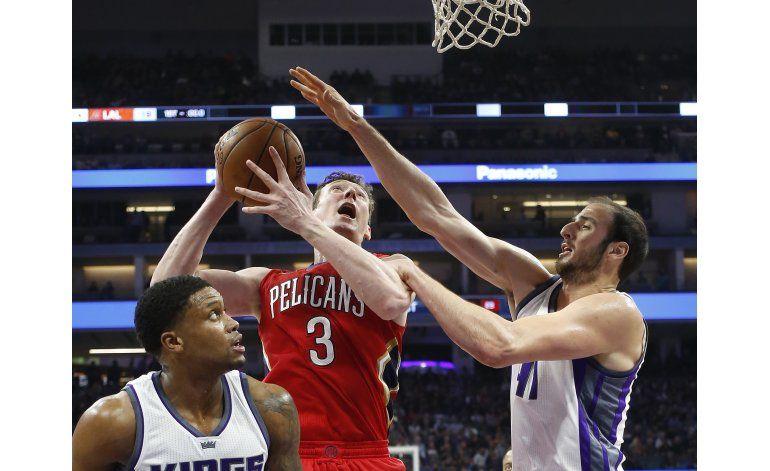 Cousins anota 28 y lidera a Kings en victoria sobre Pelicans