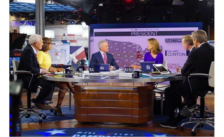 Cobertura electoral, una montaña rusa por TV