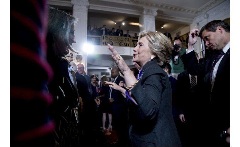 Clinton al parecer obtuvo mayoría de votos
