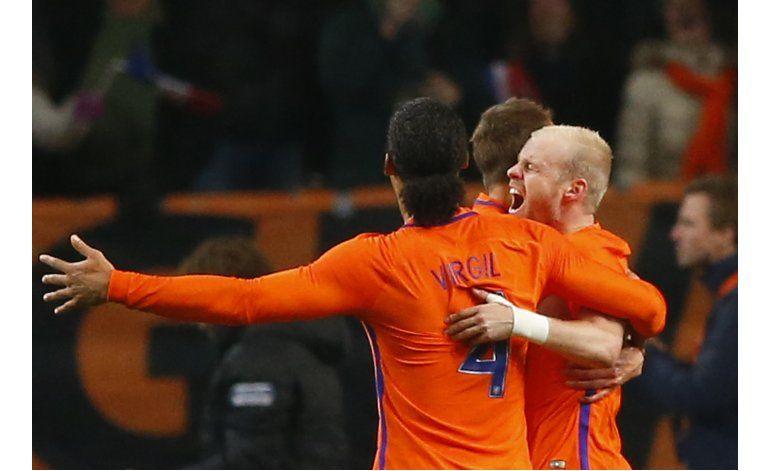 Holanda empata 1-1 con Bélgica en amistoso