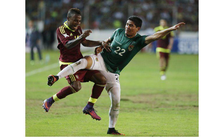 Mundial: Venezuela golea 5-0 a Bolivia