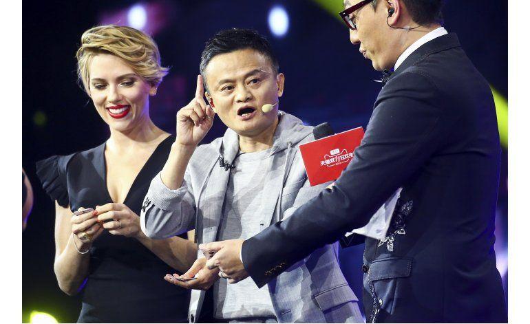 Compradores chinos gastan millones online en Singles Day