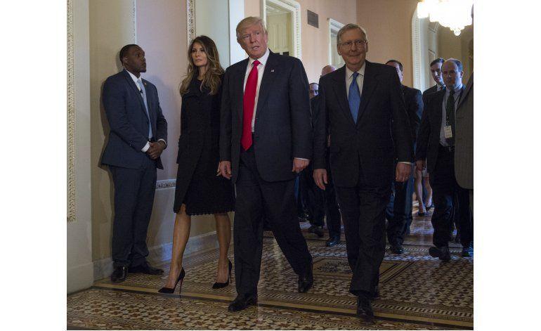 Tras sonrisas, Trump y republicanos enfrentan dura realidad